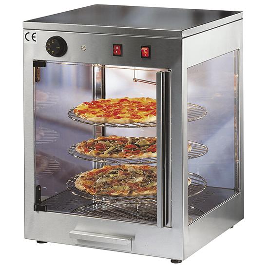 Vitrine ingrediente pizza