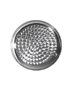 Tava rotunda- inox 1