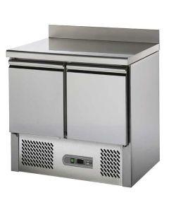 Masa refrigerata rebord, cap. 220 l, 2 usi, temp. +4/+10?C,