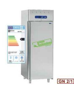 Dulap frigorific inox, capacitate 700 lt, temperatura de lucru -2+8grC,