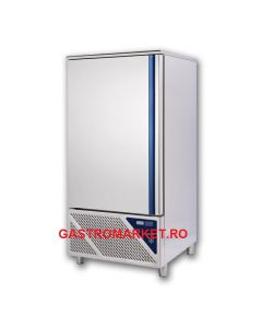 Blast chiller and freezer, capacitate 10 tavi GN1/1 sau 10 tavi 60x40 cm
