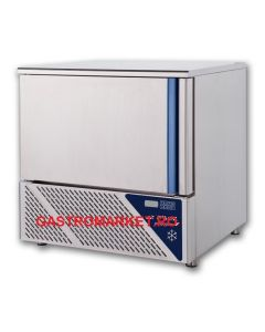 Blast chiller and freezer, capacitate 5 tavi GN 1/1 sau 5 tavi 60x40 cm