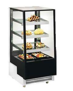 Vitrina frigorifica pentru cofetarie - patiserie, GEAM DREPT, dim. 650x805x1445 mm