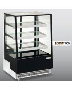 Vitrina frigorifica pentru cofetarie - patiserie, GEAM DREPT, dim. 900x805x1445 mm