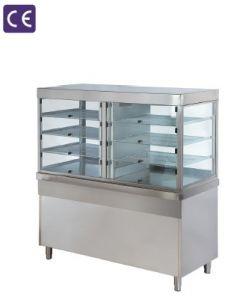 Vitrina refrigerata self service pe modul neutru inchis