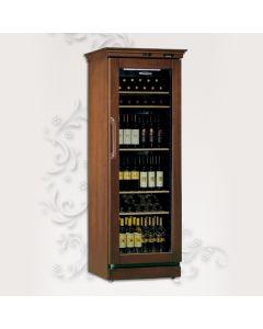 CANTINETTA GLX- Vitrina frigorifica pentru vin finisaj lemn,