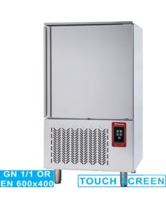 Blast chiller - freezer, capacitate 10x GN1/1 (or) 600x400 TOUCH SCREEN