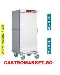 Carucior cald capacitate 20 tavi GN 2/1 ; thermobox ; Carucior banqueting