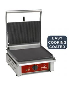 Contact-grill-Panini cooking- enamelled plates
