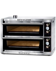 Cuptor pizza electric, capacitate 12 pizza, diam 34 cm, dimensiuni interne camera 70x105x14 cm,