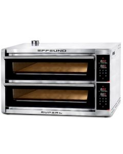 Cuptor pizza electric DIGITAL, capacitate 12 pizza, diam 34 cm, capacitate 2 tavi 60x40cm