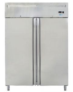 Dulap frigorific inox, cap. 1400 lt, temp. de lucru -2+8grC