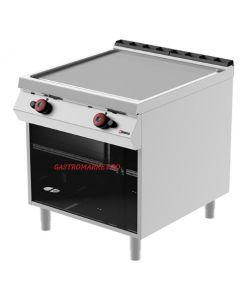 Gratar fry-top pe gaz LINIA 900 suprafata neteda