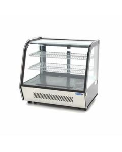 Vitrina frigorifica, cap. 100 litri, dim. 710x467x675mm