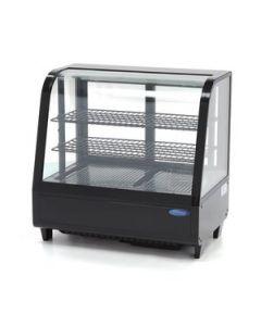 Vitrina frigorifica, cap. 100 litri, dim. 682x450x675mm