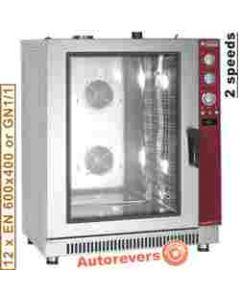Cuptor patiserie GAZ capacitate 12 tavi EN 60x40cm sau GN 1/1