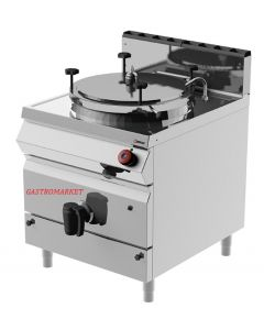 Marmita capacitate 150 lt, pe gaz cu AUTOCLAVA ( sub presiune), incalzire indirecta, LINIA 900