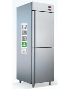Dulap frigorific si congelare cu 2 usi, capacitate 320 lt + 280 lt,